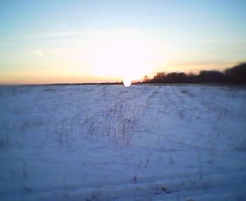 Закат настигает нас примерно на 7 км