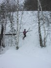 Достойное завершение спуска